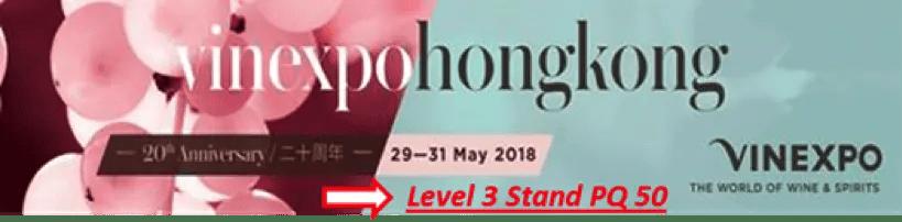 Vinexpo Hongkong 2018