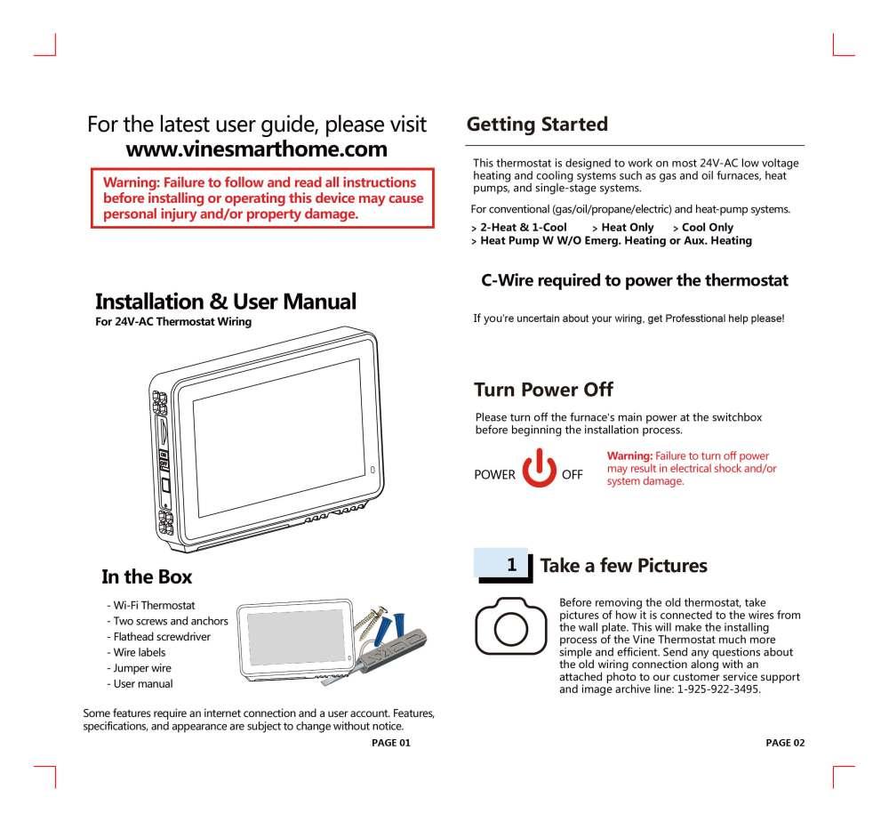 medium resolution of tj 919 installation guide