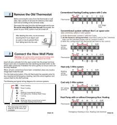 3 wire heat only thermostat wiring diagram [ 2835 x 2622 Pixel ]