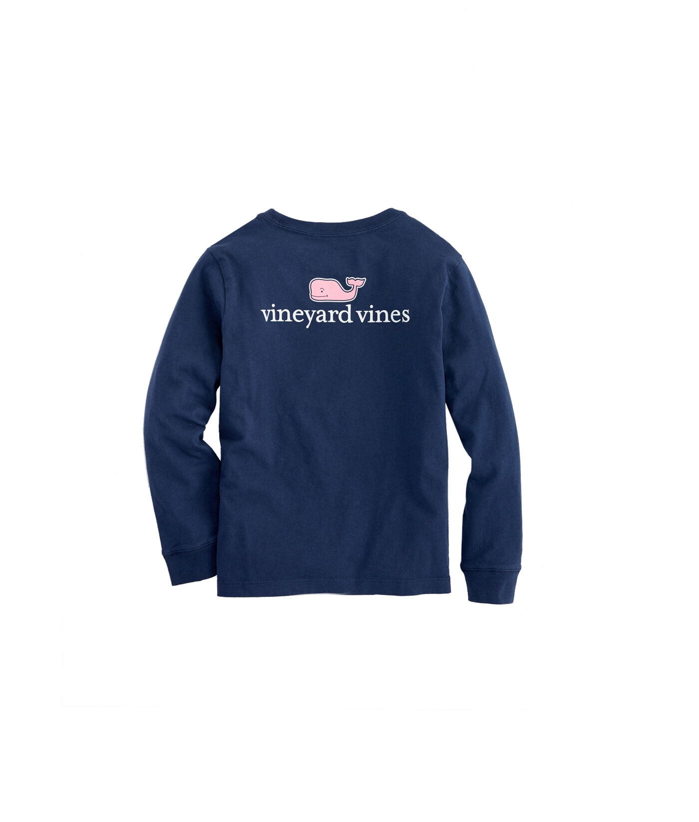 also kids long sleeve vv logo graphic  shirt rh vineyardvines