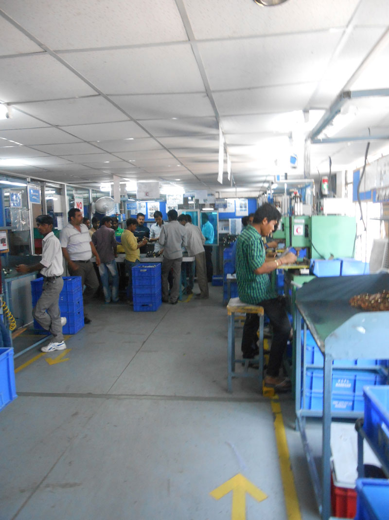 hight resolution of manufacturing line