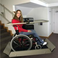 Artira Curved Stairs Inclined Wheelchair Lift