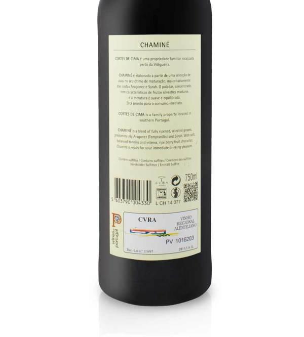 Red Wine Chamin 2016 75cl Alentejo - Envio Grtis Vinha