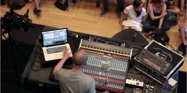 Paul Kalkbrenner – Workshop Montreux Jazz Festival 2013 (Performance)