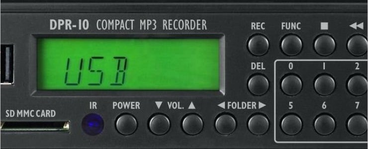 Compact MP3 Recorder DPR-10 (Tools)