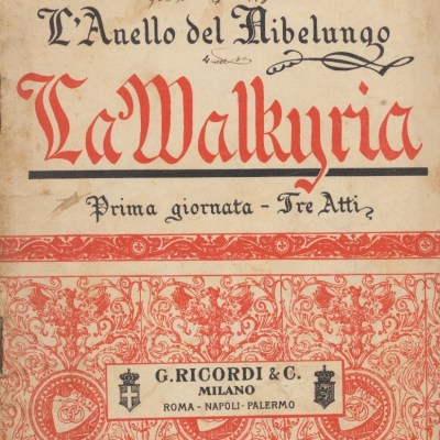 La Walkiria - Richard Wagner (Libretto)