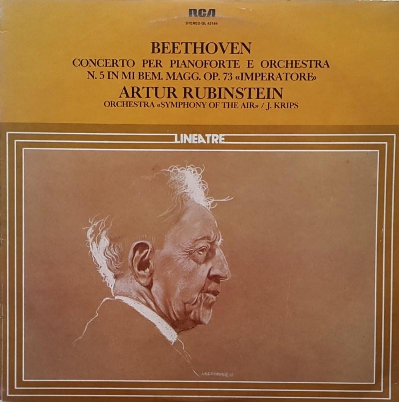 "Ludwig Van Beethoven - Concerto ""Imperatore"" - Arthur Rubinstein"