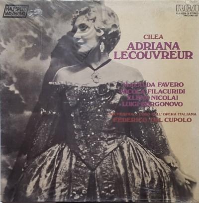 Francesco Cilea - Adriana Lecouvrer (Cofanetto, 3 LP)