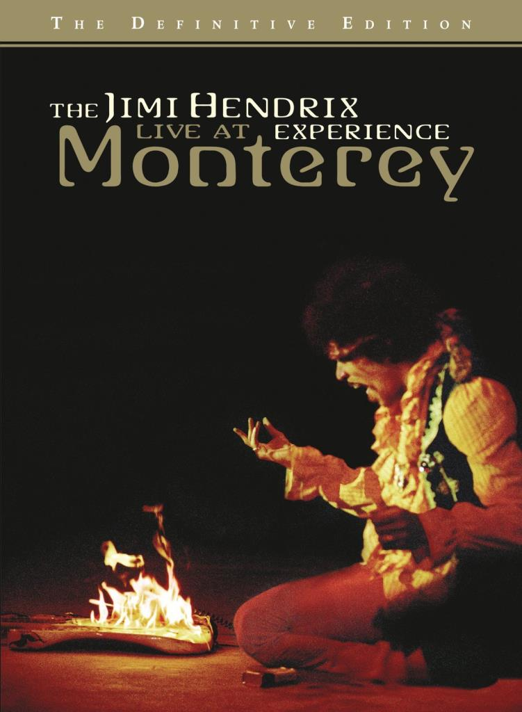 The Jimi Hendrix Experience Live At Monterey (DVD)