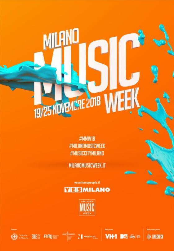 Milano Music Week 2018: 170 appuntamenti fra concerti, incontri, laboratori, mostre...