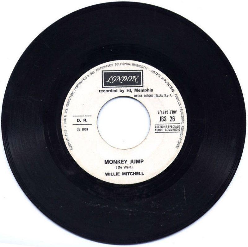 Willie Mitchell / The Clique - Monkey jump / Sugar on sunday