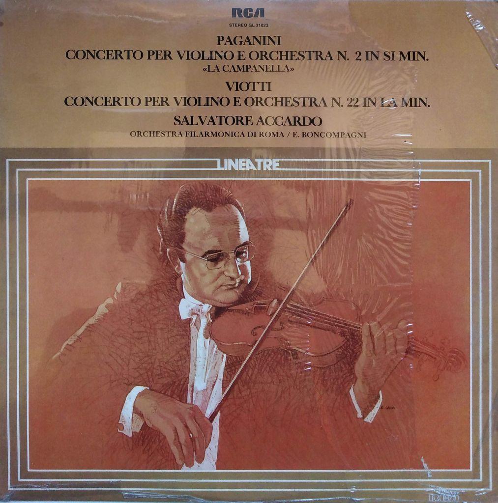 Niccolò Paganini / Giovanni Battista Viotti - Concerto per violino e orchestra