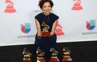 Natalia Lafourcade gran triunfadora en los Grammy latinos