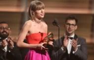 Taylor Swift responde a Kanye West al ganar el premio al Álbum del año