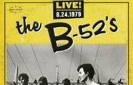 The B-52's lanza el 12 de agosto Live 8.24.1979