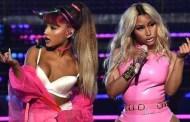 Ariana Grande y Nicki Minaj entrada más fuerte en la lista americana