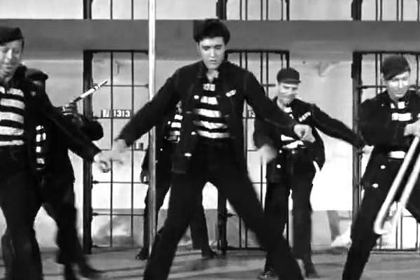 Jailhouse rock- Elvis Presley (1957)