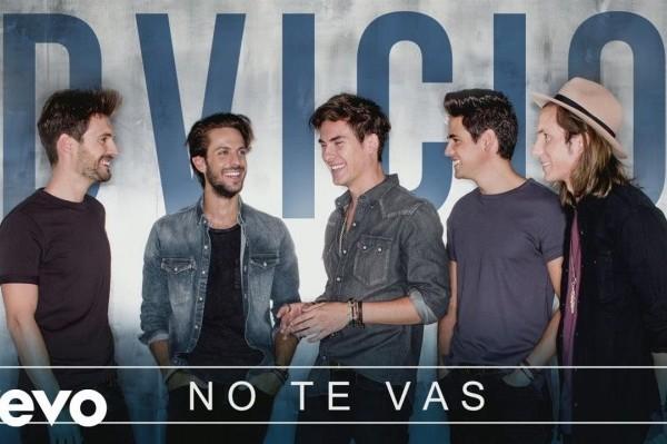 Dvicio estrenan su último tema, 'No Te Vas', antes de la salida del disco el 28 de abril