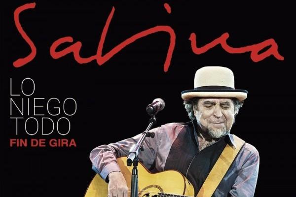 Joaquín Sabina encara la recta final de su gira 'Lo Niego Todo', con su quinto sold out en Madrid