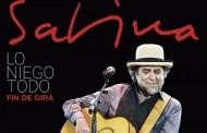 Joaquín Sabina cancela el resto de su gira