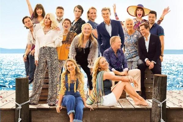 'Mamma Mia! Here We Go Again' segunda semana en la cima en UK, 'Gold' de ABBA, 60 semanas en el top 10