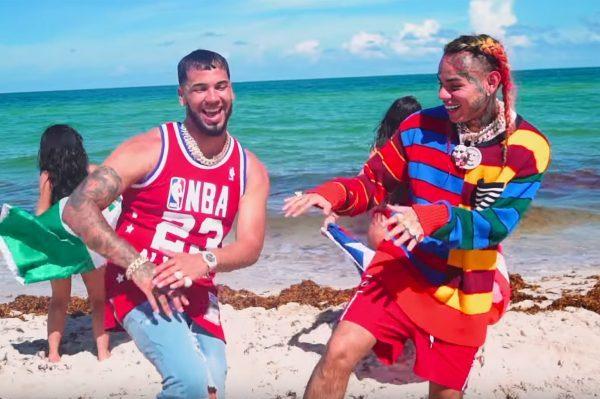 6ix9ine y Anuel Aa consiguen también el #1 en YouTube Global, con 'BEBE'