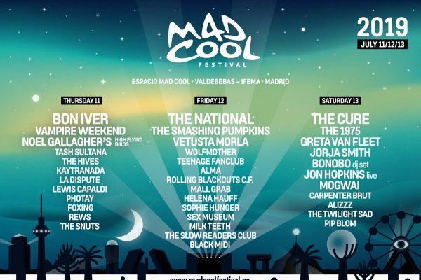 Smashing Pumpkins, Noel Gallagher, Greta Van Fleet, Jorja Smith, últimas incorporaciones al Mad Cool