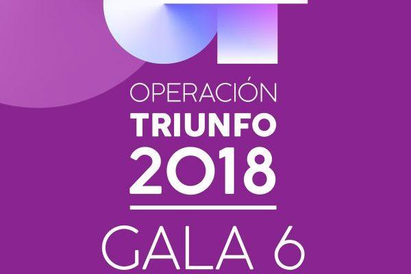 La Gala 6 de Operación Triunfo 2018, no remonta el vuelo en streaming, y marca mínimos para la edición