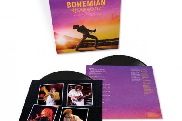 El 8 de febrero de 2019, se publicará en doble vinilo, la BSO de Queen, 'Bohemian Rhapsody'