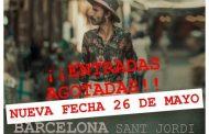 Leiva agota entradas en Barcelona, y añade nueva fecha el 26 de mayo en el Sant Jordi Club, entradas ya a la venta