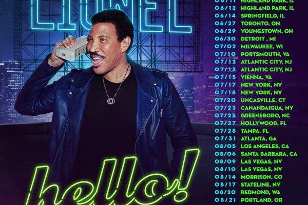 Lionel Richie anuncia nuevo disco 'Live from Las Vegas' y gira por Norteamérica