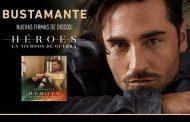 Bustamante anuncia 6 firmas más de discos, para 'Héroes en Tiempos de Guerra'