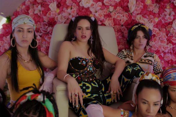 Rosalía, J Balvin y El Guincho, siguen dominando en vídeos en YouTube España, gracias a 'Con Altura'