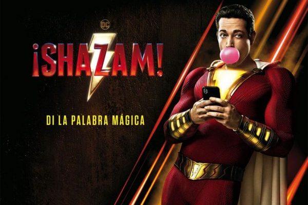 'Shazam!' mantiene el #1 en el box office americano, por segunda semana