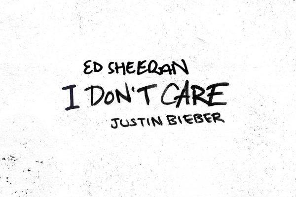 Ed Sheeran y Justin Bieber serán como máximo #2 en los Estados Unidos con 'I Don't Care'