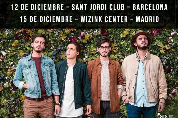 Morat cerrarán su 'Balas Perdidas Tour' en España, con dos últimos conciertos en Barcelona y Madrid