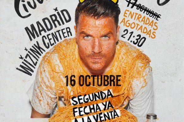 Dani Martín anuncia una segunda fecha en Madrid, el 16 de octubre, tras agotar la primera en hora y media