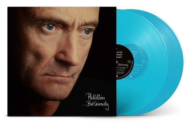 Phil Collins publica una edición en doble vinilo turquesa de un disco imprescindible '...But Seriously'