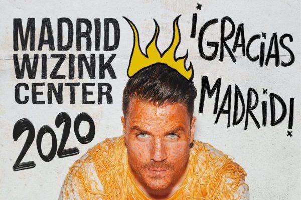 Dani Martín anuncia una cuarta fecha en Madrid en el WiZink Center, el 9 de octubre de 2020