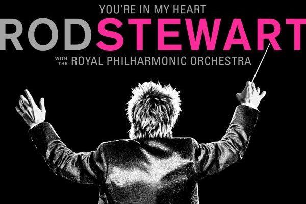 Rod Stewart mantendría el #1 en álbumes en UK con 'You're in my Heart'