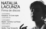 Natalia Lacunza anuncia las firmas de discos para 'ep2'