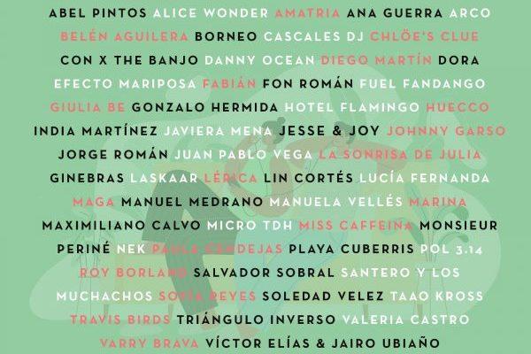 Belén Aguilera, Ana Guerra, Sofía Reyes, Fuel Fandango y Lérica en la tercera edición del Festival '#YoMeQuedoEnCasa'