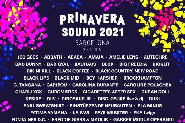 El Primavera Sound anuncia los primeros 100 nombres de su cartel para 2021