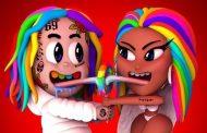 6ix9ine y Nicki Minaj debutan en el #1 en los Estados Unidos con 'Trollz'