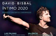David Bisbal anuncia 'Íntimo 2020', 8 conciertos de momento en un formato muy especial