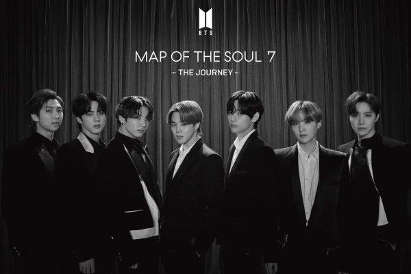 BTS consiguen el #1 mundial de álbumes con 'Map of the Soul: 7 The Journey'