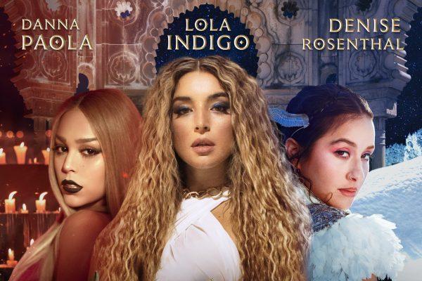 'Santería' de Lola Indigo, Danna Paola y Denise Rosenthal, marca los mejores registros de todas las novedades