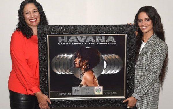 Havana' de Camila Cabello y Young Thug, disco de diamante en USA
