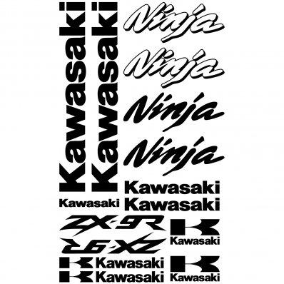 Vinilos folies : Pegatinas Kawasaki