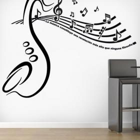 Vinilos Decorativos Revelación Musical